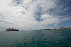 Disney Fantasy and Grand Cayman Island